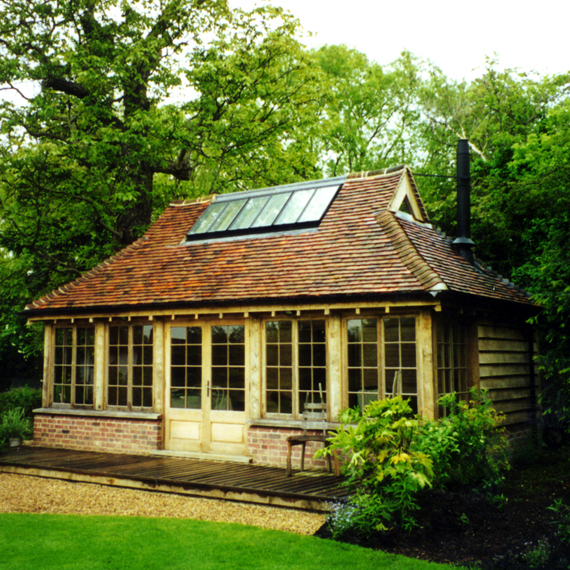 Garden Studio Hilary Brightman conservation architect listed buildings Essex East Anglia