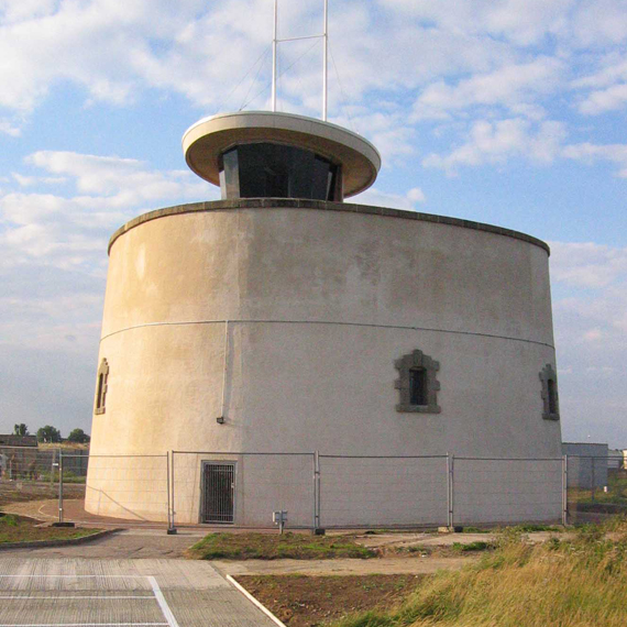 Martello Tower Hilary Brightman conservation architect listed buildings Essex East Anglia